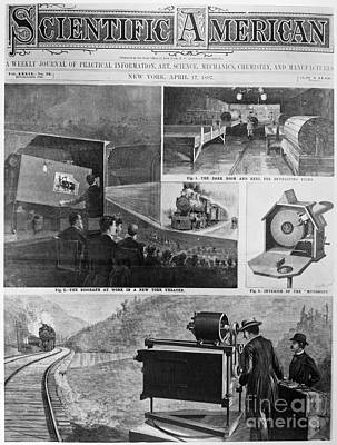 Motion Pictures, 1897 Print by Granger