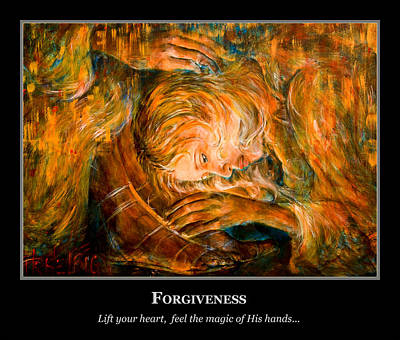Painting - Motivational Forgiveness by Nik Helbig