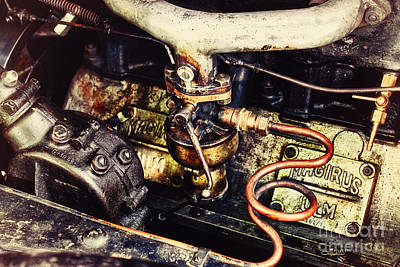 Photograph - Motor Of Yesteryear by Jutta Maria Pusl