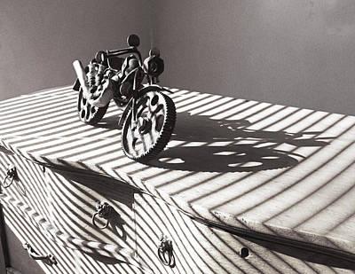 Photograph - Motorbike. Junk Art   by Irina ArchAngelSkaya