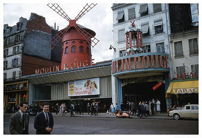 Moulin Rouge Art Print by Theo Bethel