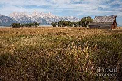 Photograph - Moulton Barn - Mormon Row - Grant Teton National Park - Late Summer 2012 -23 by Katie LaSalle-Lowery
