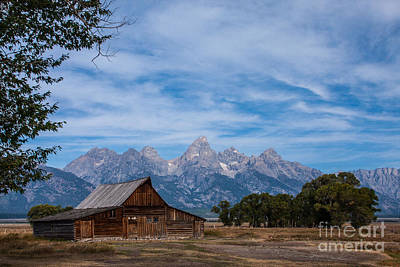 Photograph - Moulton Barn On Mormon Row 17 by Katie LaSalle-Lowery