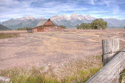 Photograph - Moulton Barn On Mormon Row Late Summer 2012 B by Katie LaSalle-Lowery