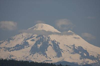 Photograph - Mount Baker - 0001 by S and S Photo