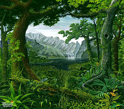 Painting - Mount Chirripo  by Michael Cranford