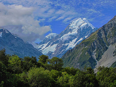 Art Print featuring the photograph Mount Cook by David Gleeson