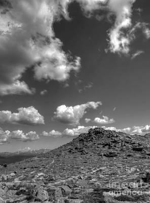 Photograph - Mount Evans Peaks by David Bearden
