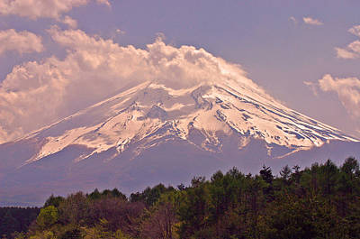 Mount Fuji Art Print by David Rucker