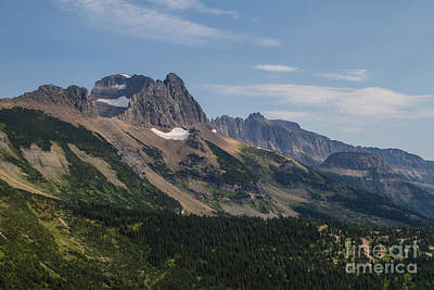 Art Print featuring the photograph Mount Gould O Garden Wall To Haystack Butte by Katie LaSalle-Lowery