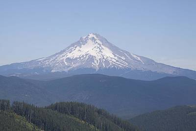 Photograph - Mount Hood - 0001 by S and S Photo