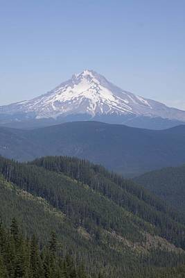 Photograph - Mount Hood - 0002 by S and S Photo