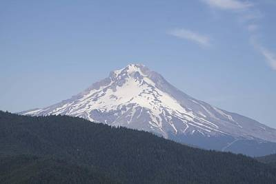 Photograph - Mount Hood - 0003 by S and S Photo