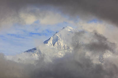 Mountins Photograph - Mount Hood Through Storm Clouds Oregon by Craig Tuttle