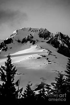 Photograph - Mount Hood Zig Zag by Scott Sawyer