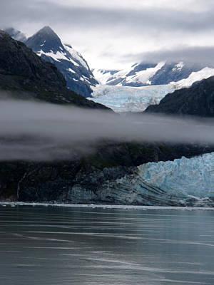 Photograph - Mount Margerie At Glacier Bay Alaska Usa by Phyllis Kaltenbach