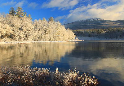 Mount Monadnock Photograph - Mount Monadnock Early Winter Snow by John Burk