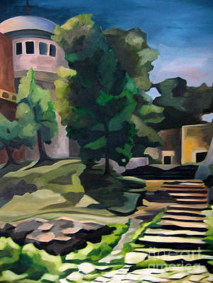Painting - Mount Of Olives by Lisa Dionne