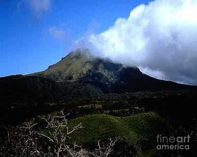 Photograph - Mount Pelee In Martinique by Merton Allen