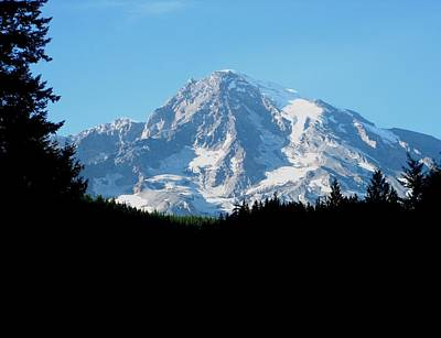 Mount Rainier 11 Art Print by Kathy Long