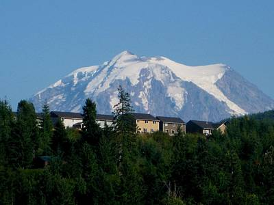 Mt. Massive Photograph - Mount Rainier 3 by Kathy Long