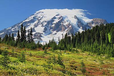 Photograph - Mount Rainier National Park by Pierre Leclerc Photography