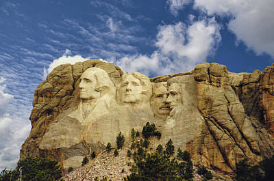Photograph - Mount Rushmore by Jan Amiss Photography