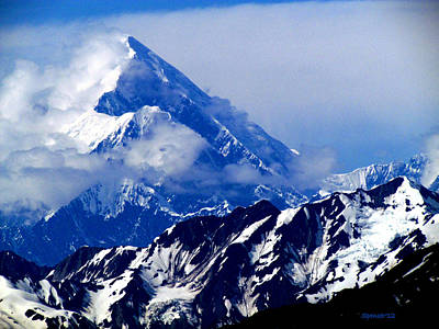 Photograph - Mount St. Elias by T Guy Spencer