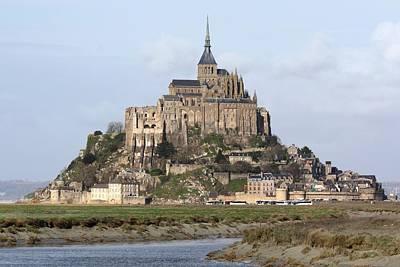 Mont Saint Michel Photograph - Mount St Michel by Jérôme S.
