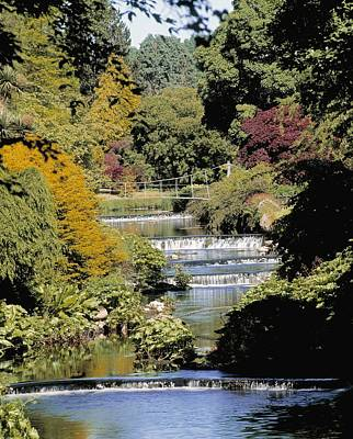 Ashford Photograph - Mount Usher Gardens, River Vartry, Co by The Irish Image Collection