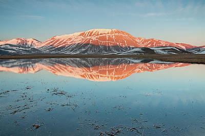 Mount Vettore Art Print by Photographer  Renzi Tommaso  tommyre00@hotmail.it