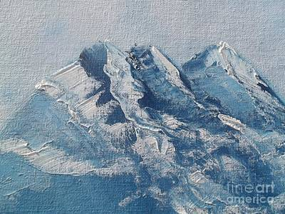 Mountains Painting - Mount Vu 1 by Annette Deno
