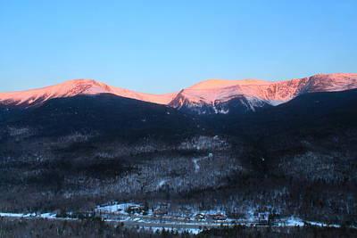 Pop Art - Mount Washington and Pinkham Notch Sunrise by John Burk