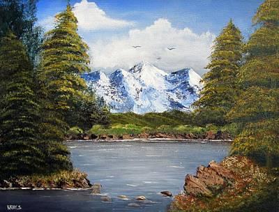 Painting - Mountain Air by Kathy Sheeran