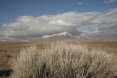 Mountain And Desert Art Print