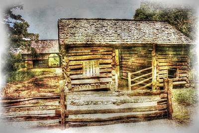 Photograph - Mountain Barns by Barry Jones