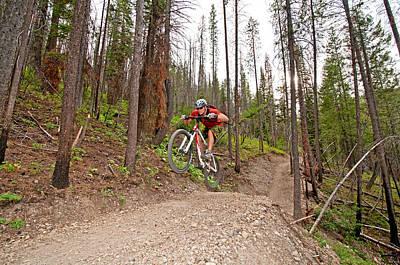 Marvelous Marble - Mountain Biking by Elijah Weber