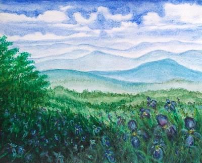 Mountain Glory Art Print by Jeanette Stewart