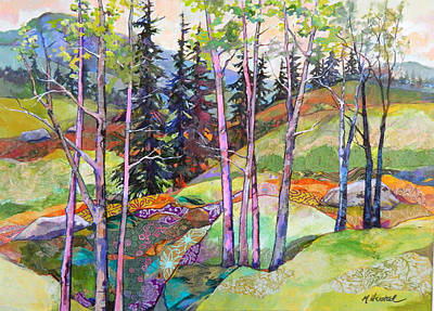 Painting - Mountain Hillside by Marty Husted