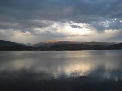 Wall Art - Digital Art - Mountain Lake by Bill Kennedy