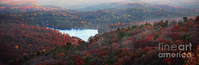 Photograph - Mountain Lake by Michael Waters