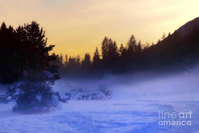 Photograph - Mountain Landscape by Gualtiero Boffi