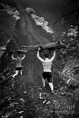 Photograph - Mountain Lunges by Scott Sawyer