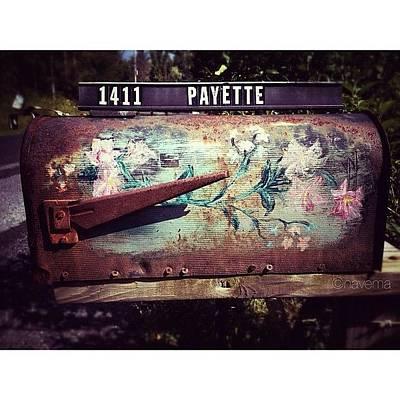 Rust Wall Art - Photograph - Mountain Mailbox by Natasha Marco