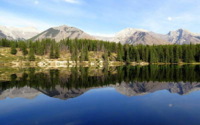 Photograph - Mountain Mirror by Ramona Johnston