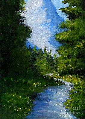 Painting - Mountain Path by Fred Wilson