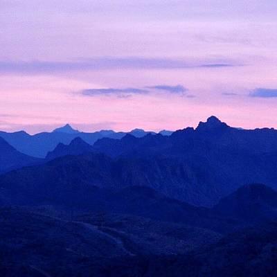 Sundown Wall Art - Photograph - Mountain Peaks by Kelli Stowe