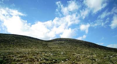 Photograph - Mountain Range Scenic Drive Towards Nafplion In Greece by John Shiron