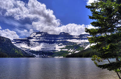 Photograph - Mountain Reflections by Don Wolf