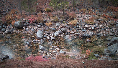 Rural Landscapes Photograph - Mountain River by Naxart Studio